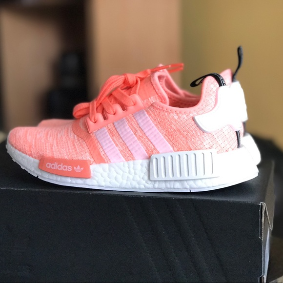 e49160dad97d Adidas NMD R1 Sun Glow W Size 5.5y DEADSTOCK